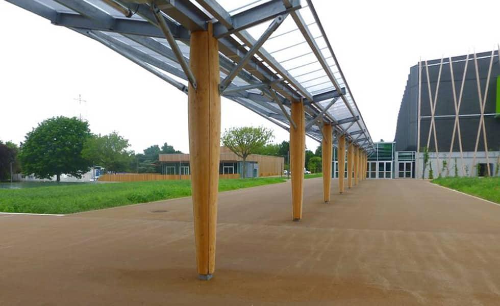 Bâtiment accueillant du public - construction bois LCA