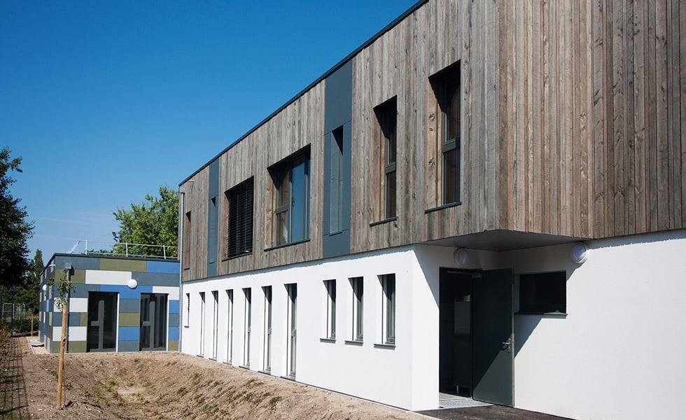 Construction bâtiment accueillant du public - Hopital Mourier - LCA