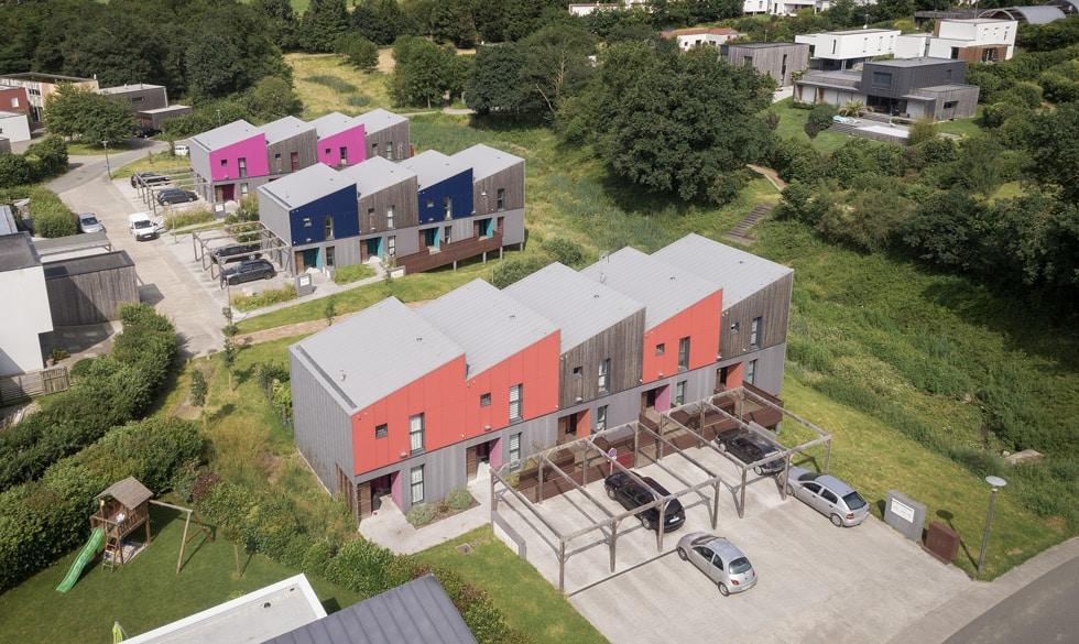 LCA Construction de maisons bois individuelles ou petits collectifs