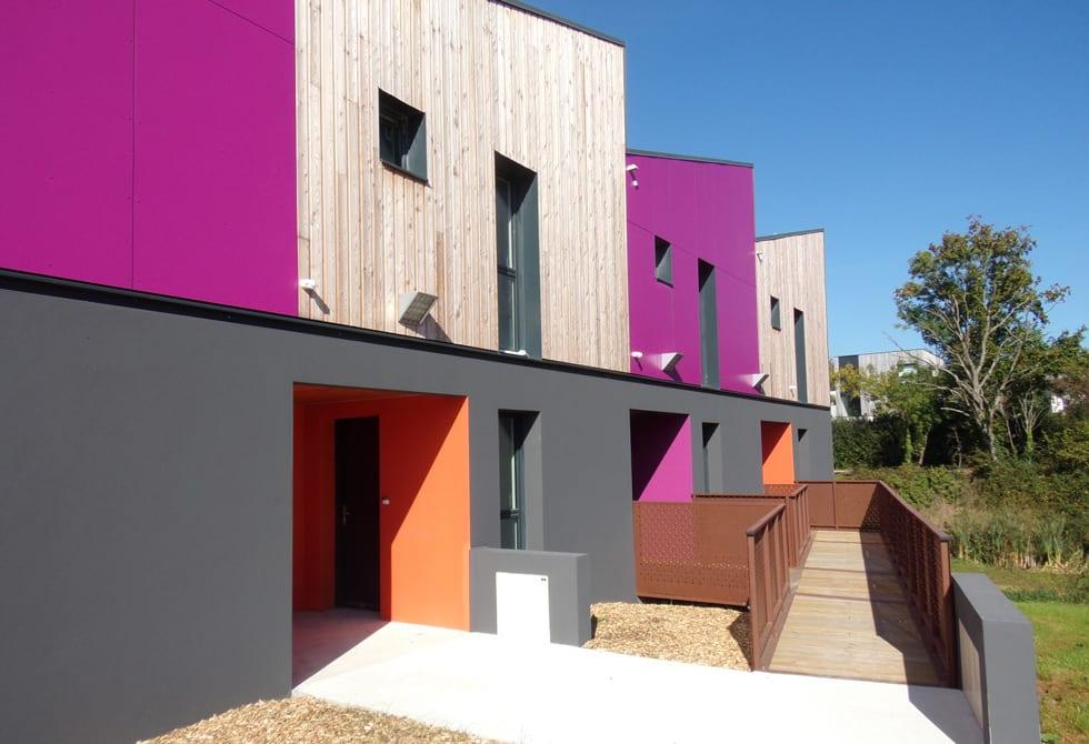 LCA Construction de maisons bois moderne