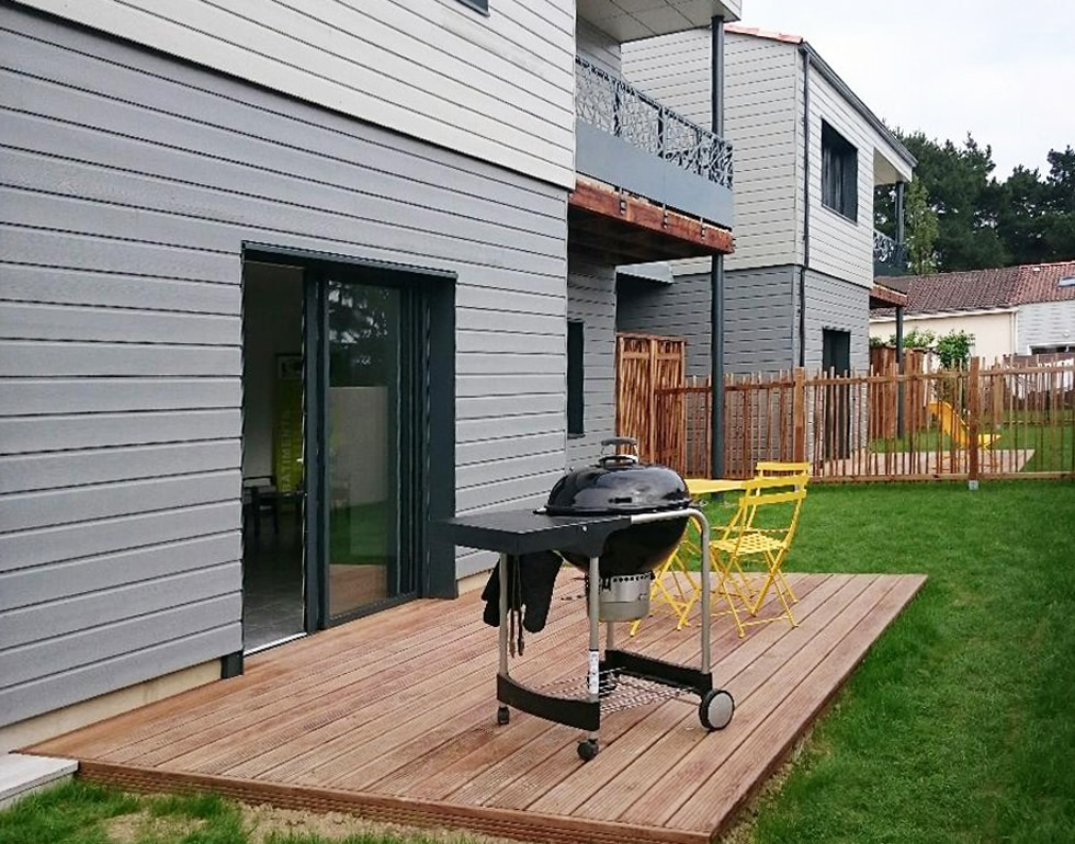 LCA construction propose des maisons ossature et bardage bois